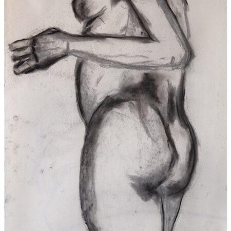 Charcoal drawing Isa