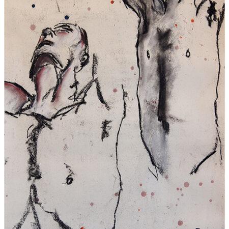 Charcoal drawing Quinn
