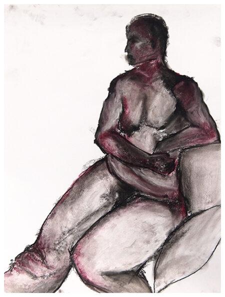 Charcoal drawing Sara