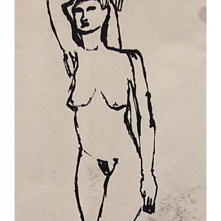 Lynn charcoal drawing