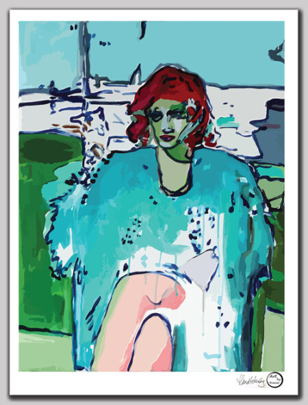 Art print Nederland 'Lady M'
