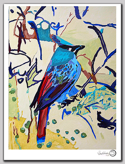 Bird, 2016, 40x50 cm, giclee art print