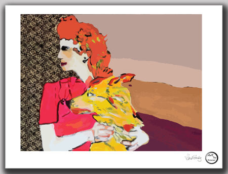 Kunst print 'Jessica'